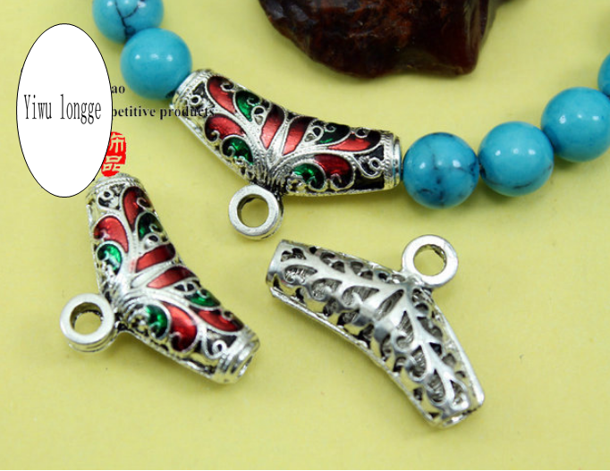 Jewelry making charms tibetan beads accessories 8mm