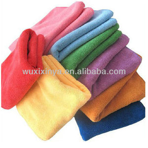 Colors microfiber cleaning towel