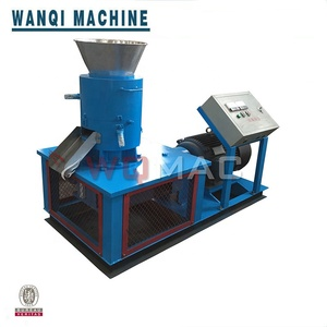 High Efficiency Flat Die Biomass Wood Pellet making Machine granulator