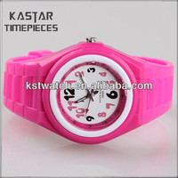 Top quality quartz watch fashion plastic watch