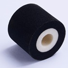 HZ-XJ type diameter 36mm height 32mm expiry date coder solid melt dry coding roll hot ink roller for packaging machines