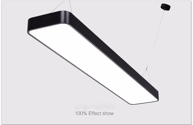 30w 40w 50w 60w 80w Dimmable Led Suspended Ceiling Light