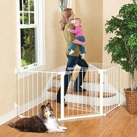 Walk Through Child Dog Pet Protection child safety gate baby Safety Fence
