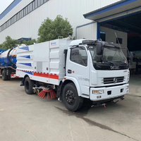 Vacuum road sweeper cleaner Truck For Sale