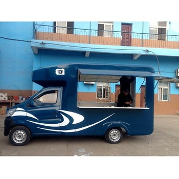 Custom Mobile Food Truck For Sale In China With Kitchen Ice Cream