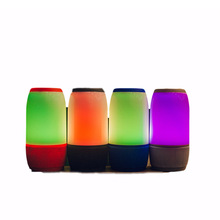 À Moda moderno do Luminoso Sem Fio Bluetooth Speaker Com <span class=keywords><strong>Rádio</strong></span> <span class=keywords><strong>FM</strong></span>