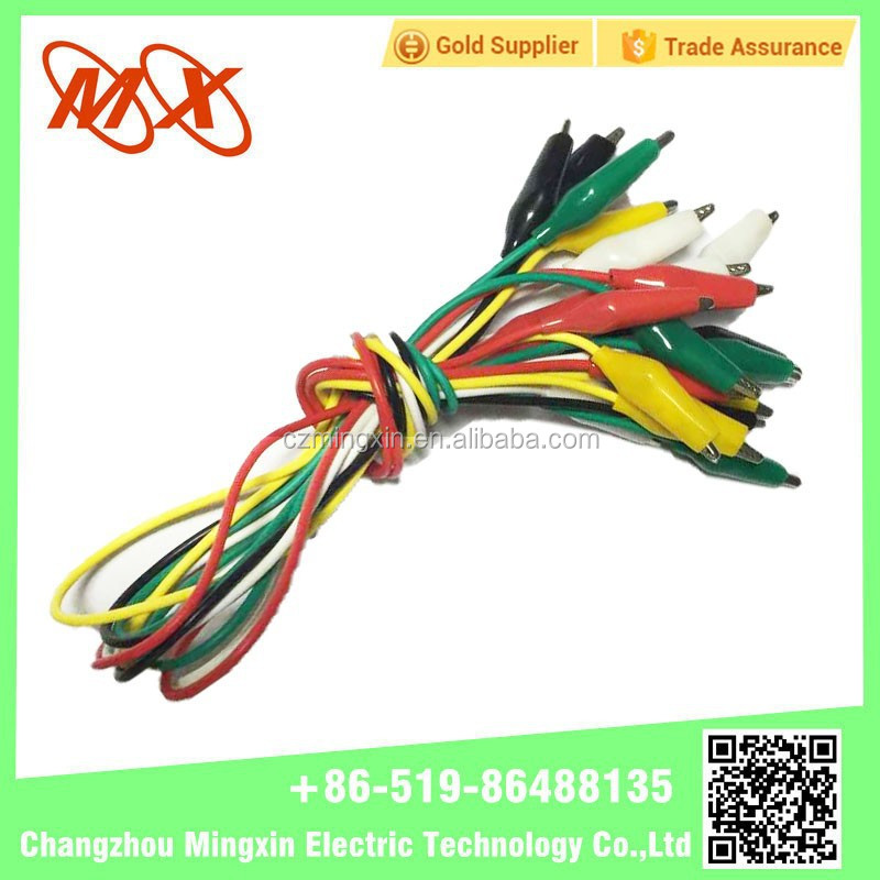 High quality Battery clamps Crocodile clips lead wire with factory price