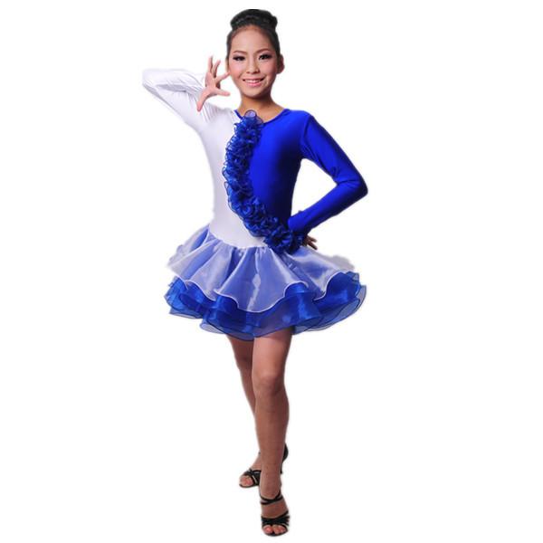 b7c916202e6e B000022 Best Dance Latin Sexy Girl Kids Dress Ballroom Dance Costumes Dress  Skirts