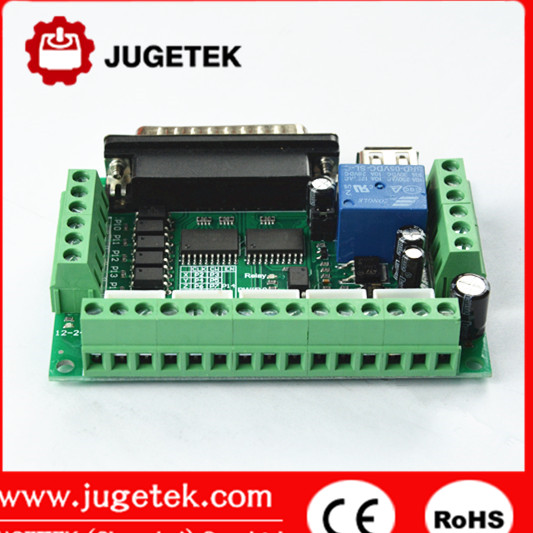 5 axis Mach 3 breakout board CNC controller cnc controller for stepper motor driver