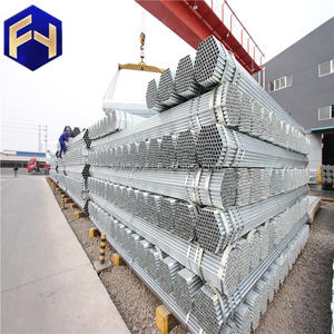 In stock ! galvanized water supply top product 1/2 inch gi steel pipe made in China