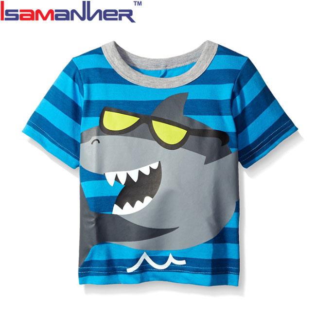 Servizio DELL'OEM del fumetto dei capretti t-shirt con alzata 3D torna applique