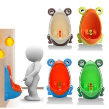 Cute Ergonomic Frog Children Baby Potty Toilet Trainers Urinals Boy Hook Kids Training Portable Windmill 0-6years