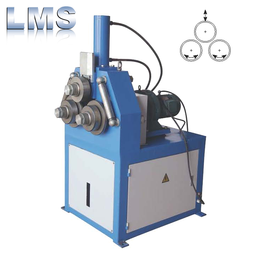 Hydraulic metal strip tube pipe profile bending machine / rolling bender with high quality
