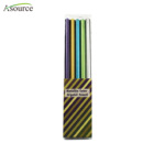 High Quality Promotion Metallic Color Crystal Pencil Pack