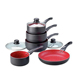 15pcs forged aluminum marble coating korea ceramic cookware