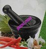 Granite Mortar and Pestle/Factory Direct Molcajete And Tejolete/Grind&Crush Spices Herb