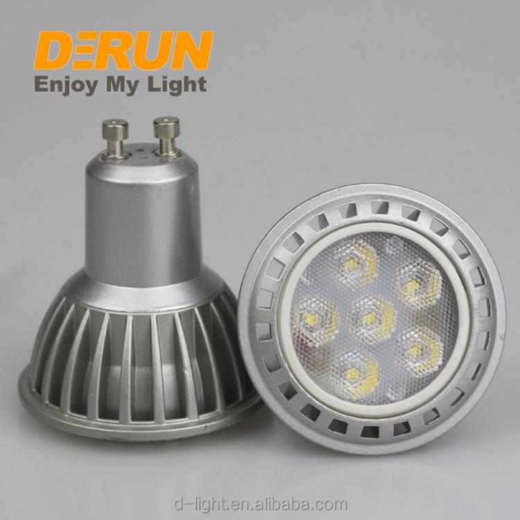 Factory Supplies 10 Degree Beam Angle 5W LED Spotlight , LED-GU10