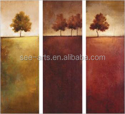 High Quality Handmade Field Painting On Canvas