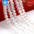 5040# Crystal AB color 8mm faceted rondelle glass strands beads for decorating
