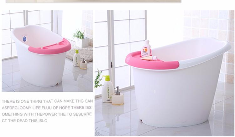 Vasca Da Bagno Bambini : Hot vasche di plastica da bagno bambino secchio colorato del