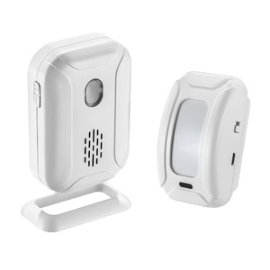 Colorful light separated device welcome doorbell Wireless doorbell