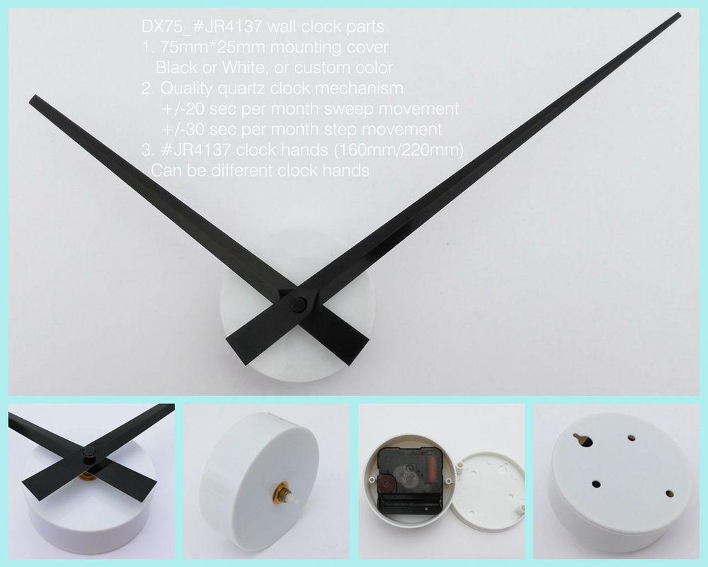 Diy Wall Clock Parts Wall Decals Clock Parts Wall Stickers Clock - Wall decals clock