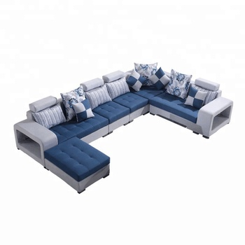Sofa Sectionnel En Tissu De Meubles