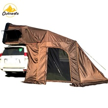 Draagbare camping outdoor opvouwbare hard shell dak tent, autodak tent, rooftop tent