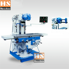 X6226 universal metal processing milling machine, multifunction vertical and horizontal dual-use drilling and milling machine