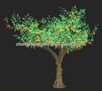 led artificial/simulation oil peach fruit tree light