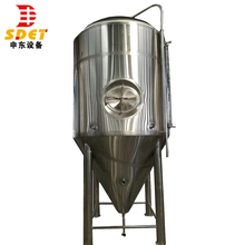 Stainless steel 1000l 2000l glycol beer fermentation tank