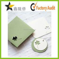 2015 Wholesale high quality design custom gift card postcard