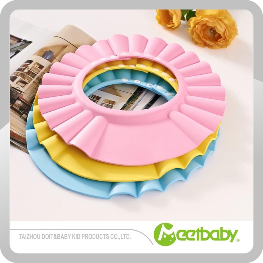 Baby Shower Cap Safe Shampoo Shower Bathing Bath Protect Soft Cap Hat For Baby Children Buy Baby Shampoo Cap Baby Shower Cap Baby Bath Cap Product On Alibaba Com