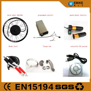 1500W Front Wheel Electric E-Bike 500W/1000W/1500W Hub Motor Bicycle Conversion Kit 3Kw