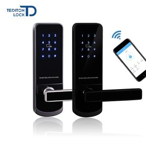 Electronic Swipe Card Hotel Smart Door Lock For RFID Card Hotel Door Lock System Price