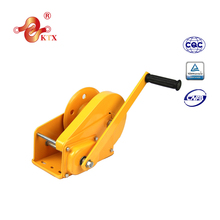 1200lbs capstan cable winch with self locking brake manual hand winch