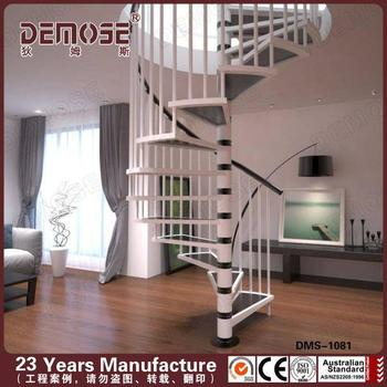 China Factory Baking Metal Spiral Stairs Or Cast Iron Used Spiral Staircase