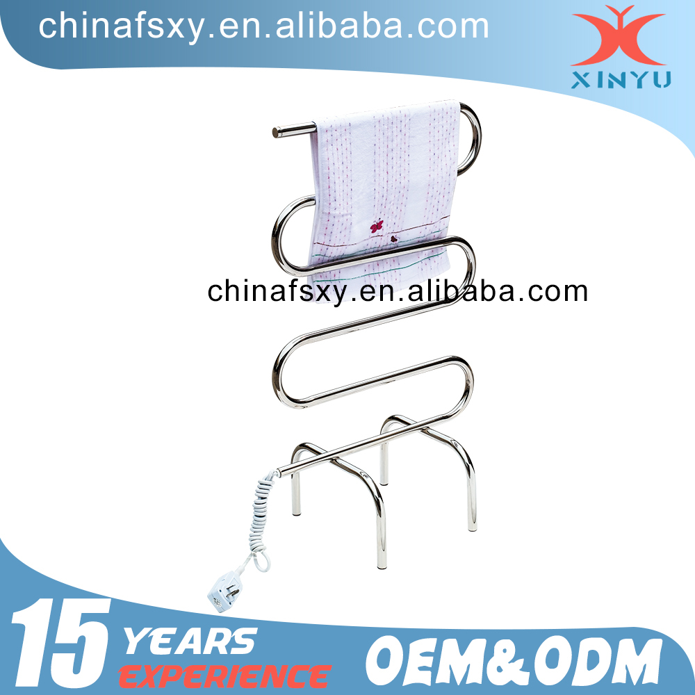 Stainless Steel Hand Towel Dryer Electric Heated Towel Rails