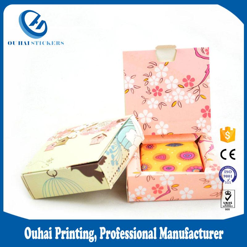2017高級デザイン包装正方形石鹸箱
