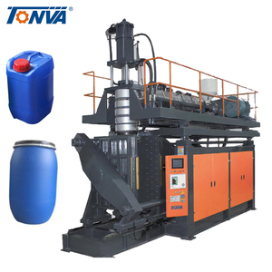60 Liter plastic open top drum extrusion blow molding machine