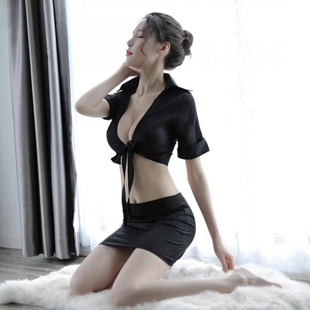 Free Sexy Secretary Pics disfraces sexys polyester sexy secretary costume see through look & deep v  skirt & top patchwork free size 203505 - buy disfraces sexys product on