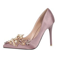 cz3053b Reliable and Cheap bridal shoes white high heel china with good after sale service