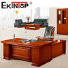 Foshan plywood office desk office antique table with movable pedestals