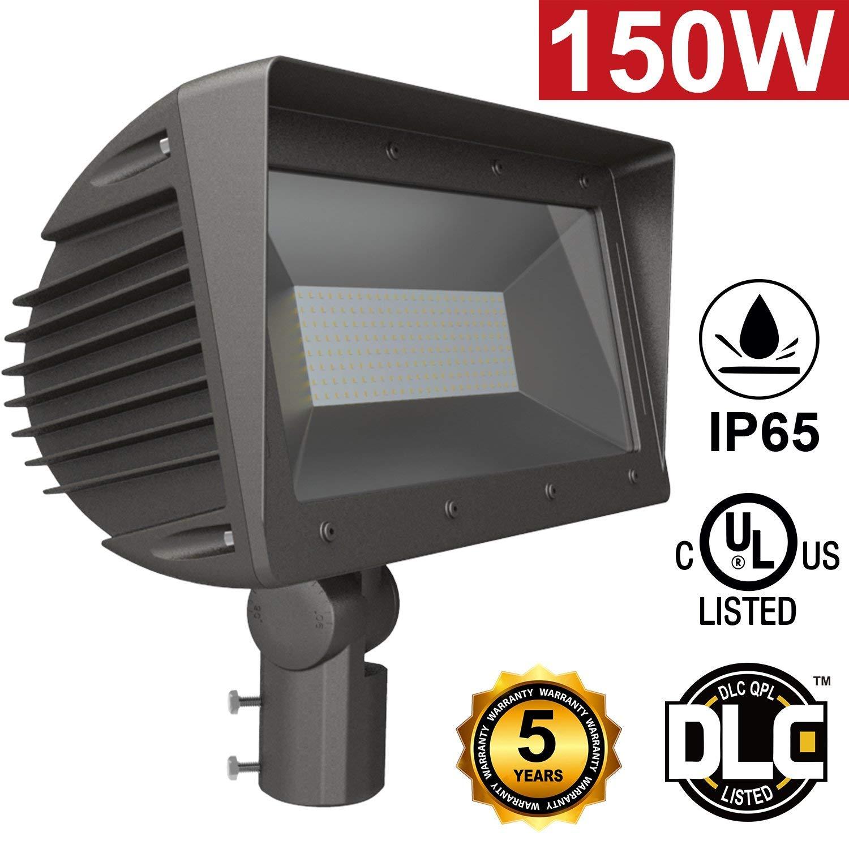 150W Halogen Bulb Equivalent Hagolight 30W LED Flood Lights Outdoor Security Lights Outdoor Floodlight Waterproof IP65 2100lm Super Bright 6000K Daylight White