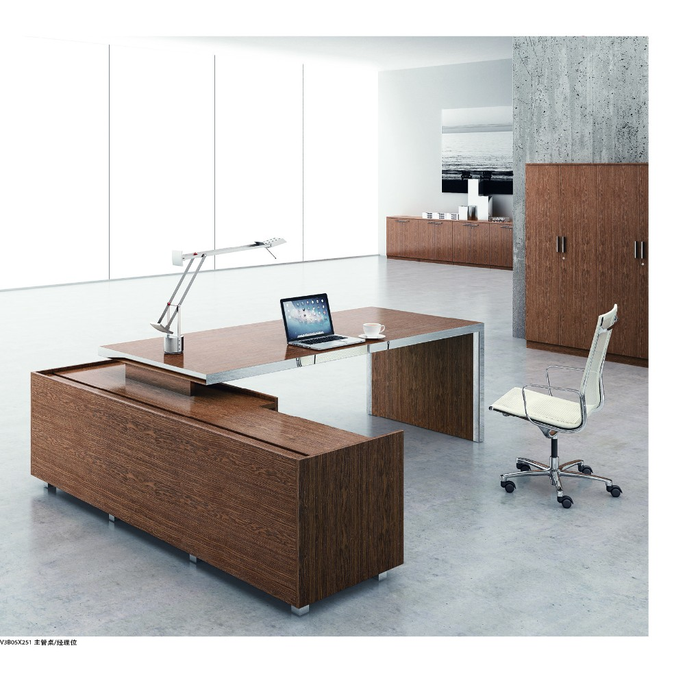 Wholesale High End Luxury Ceo Office Furniture Modern Practical Solid Wood Ex