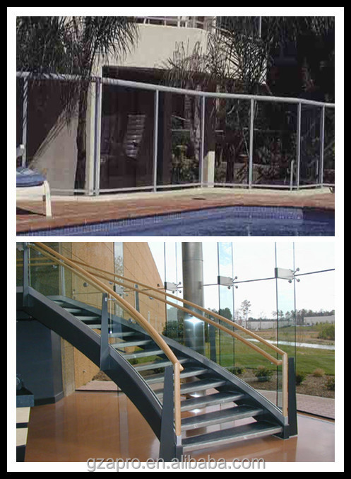 Aluminium Glass Railing Lowes Handrails For Outdoor Steps