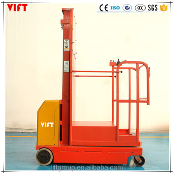 Good Price Warehouse Full Electric Aerial Order Picker - Buy Order Picker  Truck,Order Picker Forklift Trucks,Order Picker Lift Truck Product on