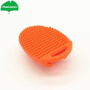 HeaLeanLo new design silicone makeup brush cleaner original brush egg review