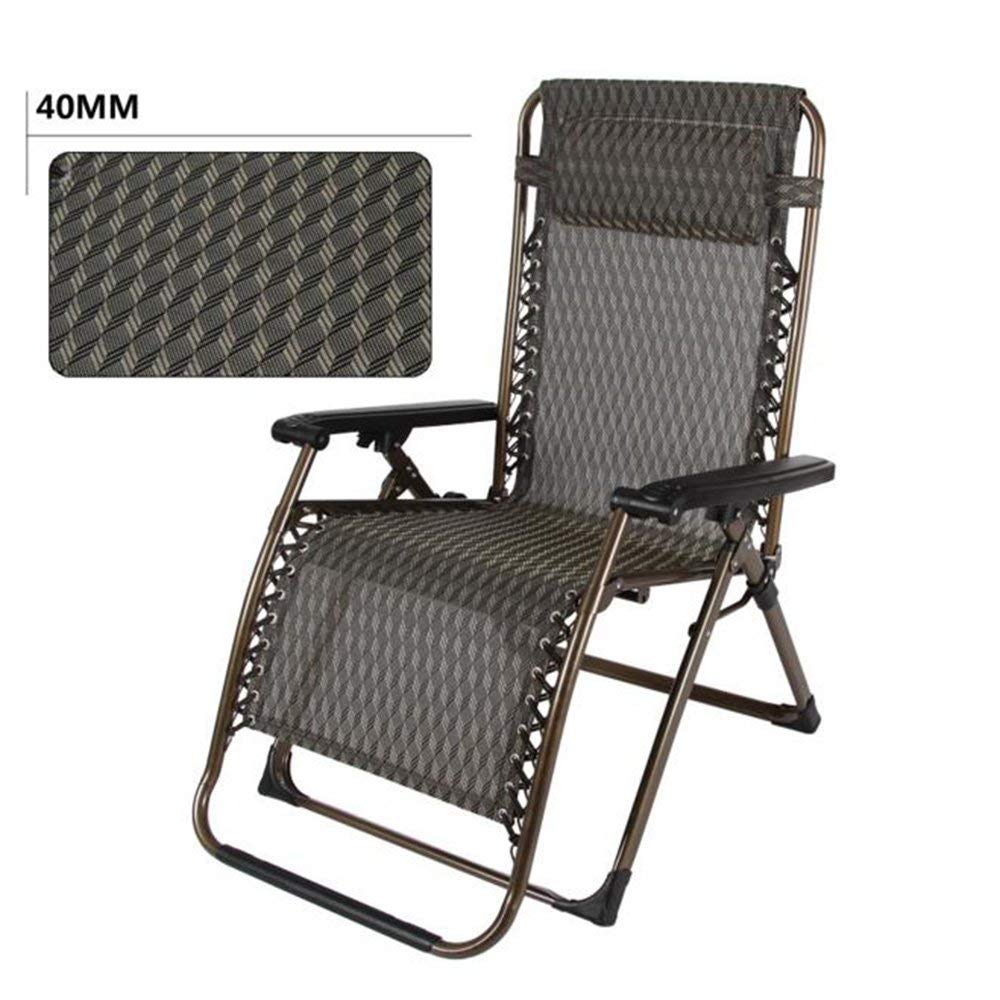 Rocking Chairs MEIDUO Oversize XL Padded Zero Gravity Lounge Chair Wider Armrest Adjustable Recliner Support 300 LBS (Color : B)