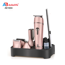 Anbolife CE Certificato <span class=keywords><strong>di</strong></span> GS <span class=keywords><strong>5</strong></span> in 1 Ricaricabile Cordless/Con Filo Supporto Professionale Dei <span class=keywords><strong>Capelli</strong></span> Clipper Naso Trimmer Grooming Haircut Kit
